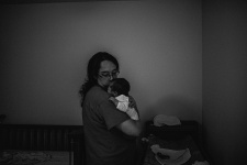 Kayla Lunde Chicago Documentary Newborn (7)