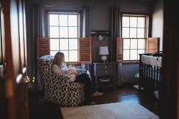 Kayla Lunde Chicago Documentary Newborn